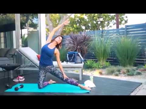 Workout Tips With Brooke Burke