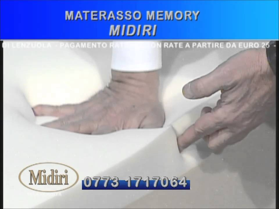 Midiri Materassi In Lattice.Offerta Materasso Memory Casastar Youtube
