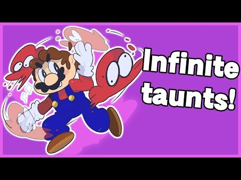 Infinite taunts with EVERY character - Super Smash Bros. Ultimate thumbnail