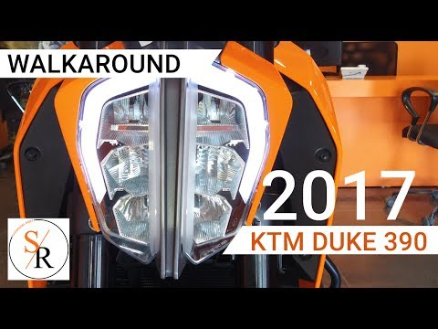 2017 KTM DUKE 390 Orange walkthrough | TFT Panel Features Explained | Showroom Ridez