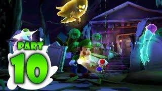 Luigi's Mansion: Dark Moon - Part 10 - Haunted Towers: B-3 Graveyard Shift