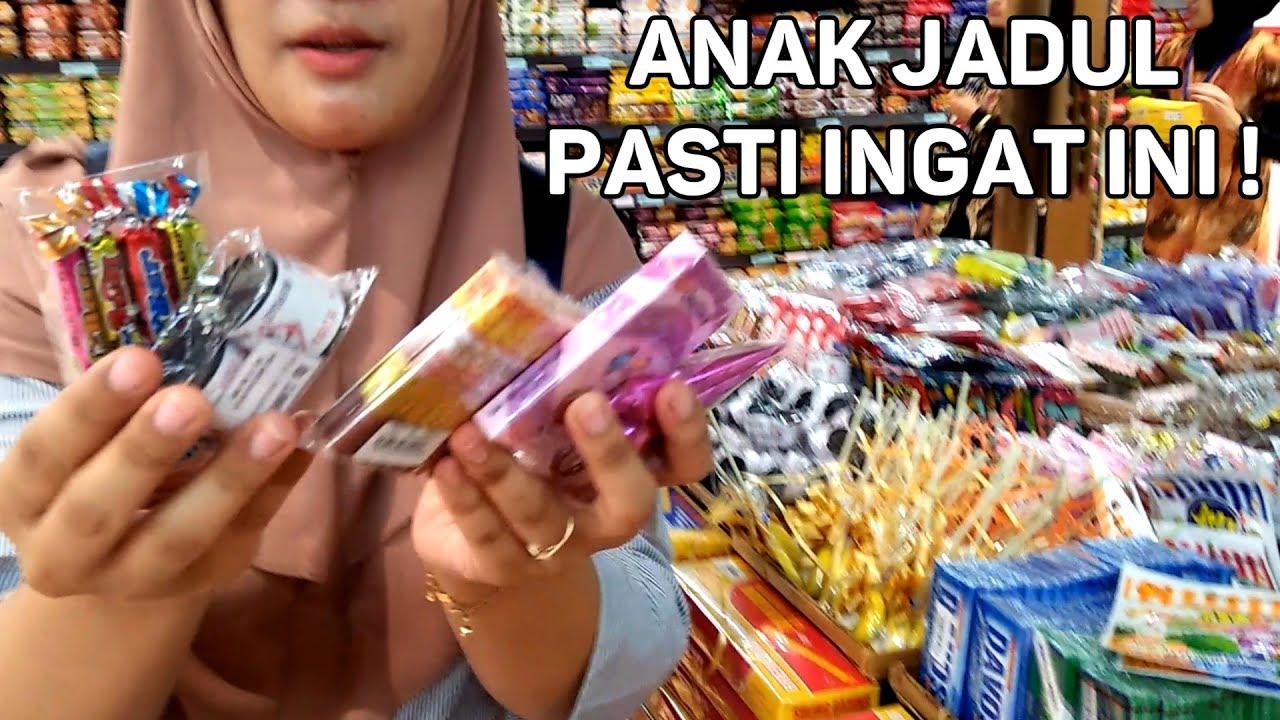 Belanja Aneka Jajanan Jaman Dulu Di Pesta Jajanan Anak Jadul