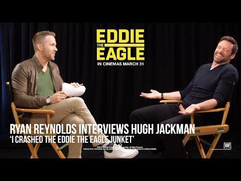 Eddie The Eagle [Ryan Reynolds Interviews Hugh Jackman in HD (1080p)]