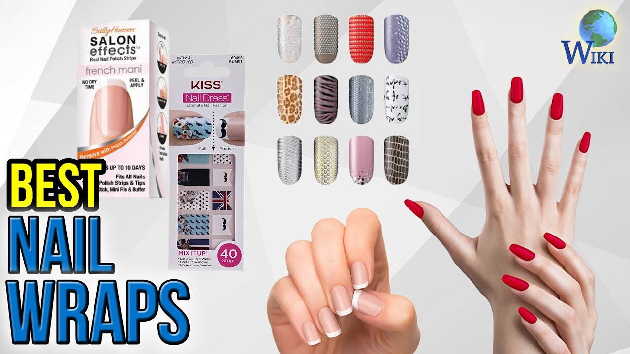 6 Best Nail Wraps 2017 - YouTube