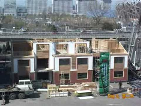 China - Eco Home Time Lapse Video