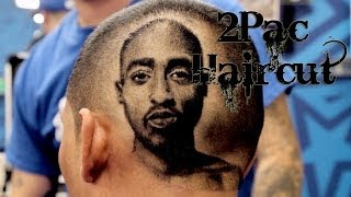 2Pac Haircut