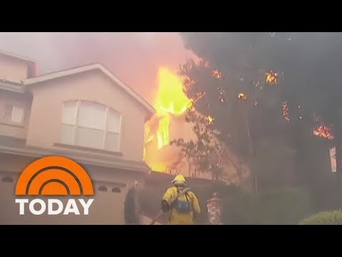Deadliest Wildfires In California's History; At Least 31 Have Died | TODAY