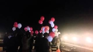 Свадьба 10.10.2015 Бизнес центр .г Краснодар Запуск светящихся шаров