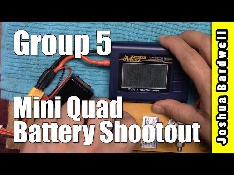 Drone Racing FPV LiPo Battery Comparison | GROUP FIVE RESULTS