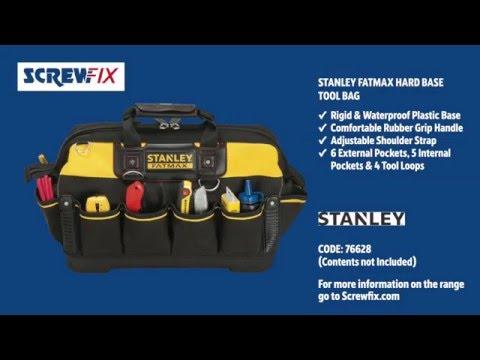 Stanley FatMax Hard Base Tool Bag | Screwfix