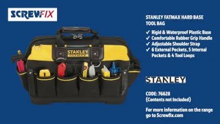 Stanley FatMax Hard Base Tool Bag | Screwfix