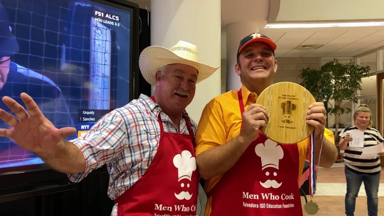 LocalMeA Minute - Men Who Cook benefits Splendora ISD Education Foundation