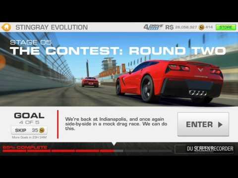 Real Racing 3: Stingray Evaluation Ft Chevrolet Corvette Stingray Z51: Stage 5.4