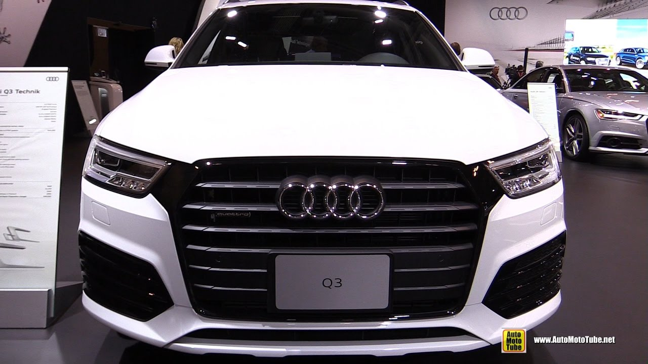 2017 audi q3 exterior and interior walkaround 2017 toronto auto show youtube. Black Bedroom Furniture Sets. Home Design Ideas