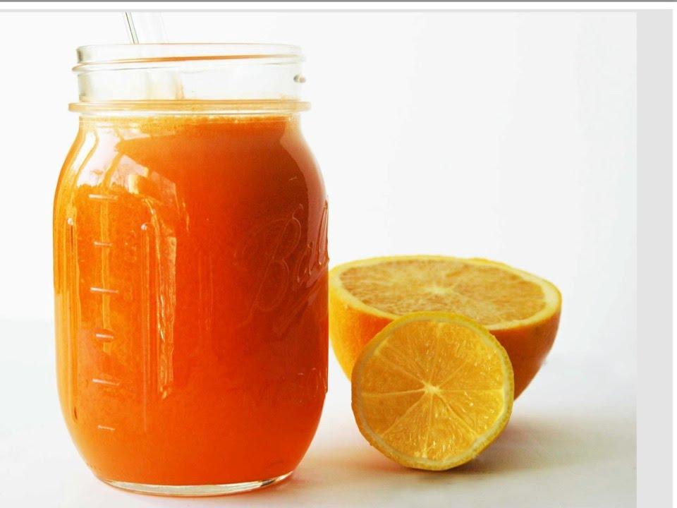 refreshing detox juice orange ingwer grapefruit saft youtube
