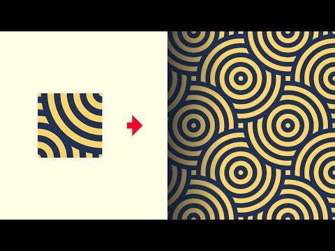 Create Seamless Background Patterns with Adobe Illustrator CC