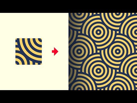 Create Seamless Background Patterns with Adobe Illustrator CC