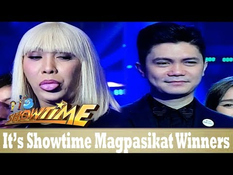 It's Showtime Magpasikat 2017 Awarding of  Winners!