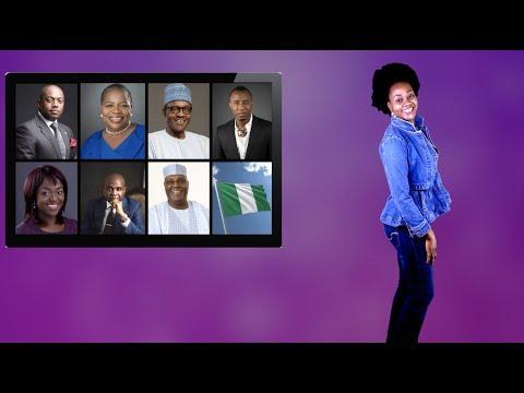 Analyzing Nigeria's 2019 Presidential Candidates: Buhari, Sowore, Atiku, Oby, Moghalu, Eunice