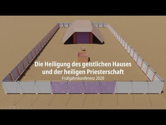 Die Stiftshütte | 10a. Heiligtum - Schaubrottisch