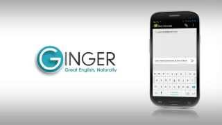 Ginger's Grammar & Spelling Keyboard - New User Interface!