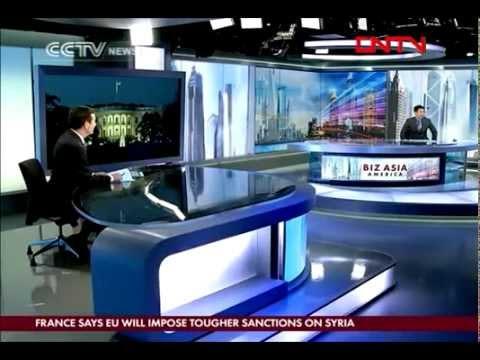 "CCTV-NEWS AMERICA ""BIZ ASIA"" #Launch#First Time#(2012-2-7)"
