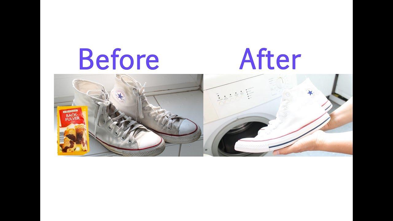 Chucks waschen Wie man Converse Sneaker mit 4 super