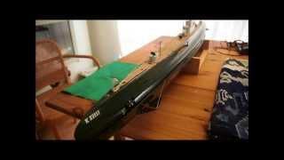 Rubber motor torpedo's for RC  submarine