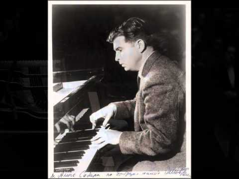 Gilels plays Shostakovich Prelude & Fugue no. 24 in D minor (1955)