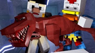 "Minecraft Dinosaurs | Jurassic Craft Ep 88! ""BABY T-REX TROUBLE"""