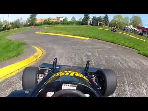 [STABILIZED] Malibu Grand Prix/Raceways. Best two laps, April 2013, (GoPro Helmet Cam)