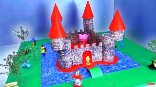 How to Make a Castle using Cardboard and Toilet paper