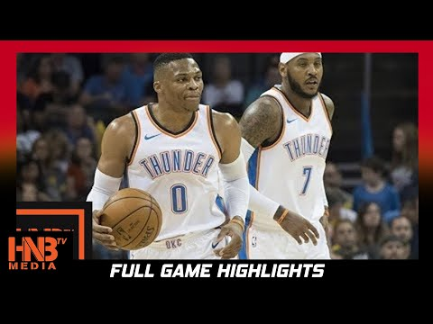 Oklahoma City Thunder vs Minnesota Timberwolves 1st Half Highlights / Week 1 / 2017 NBA Season