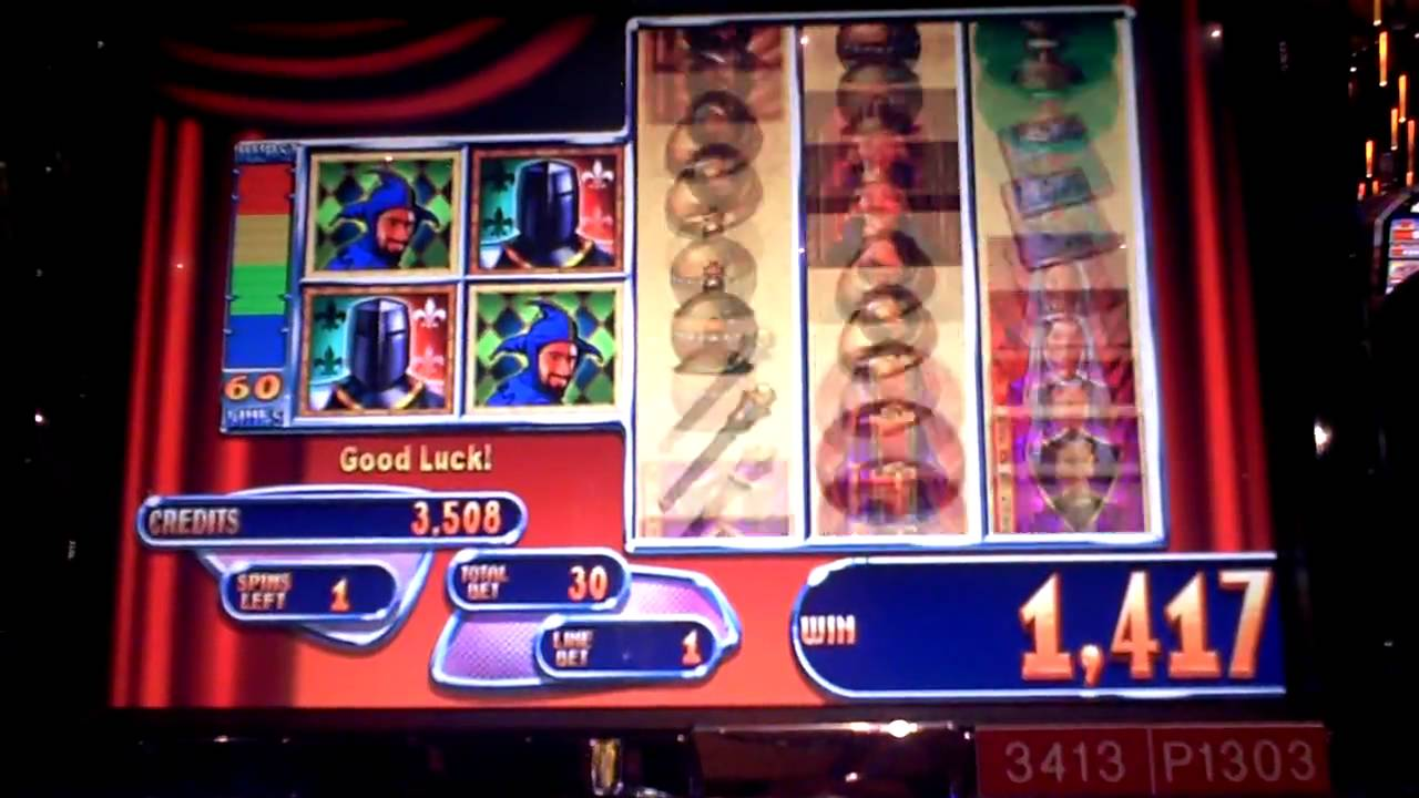 Queen's knight slot machine free
