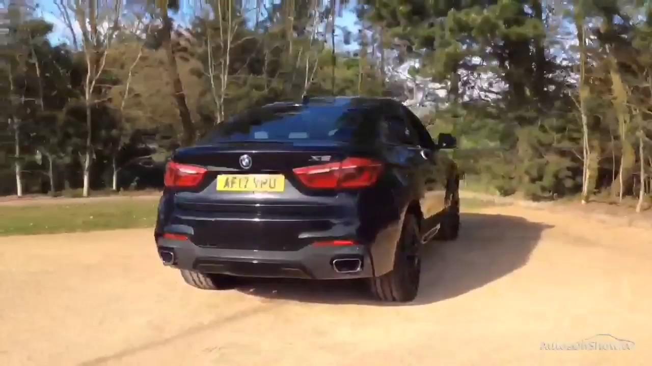 Bmw X6 Xdrive30d M Sport Black 2017 Youtube