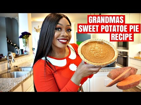 SLAP YO MAMA SWEET POTATO PIE RECIPE