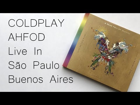 Coldplay The Butterfly Package Live In Buenos Aires / São Paulo / A Head Full Of Dreams | Unboxing