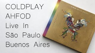 Baixar Coldplay the Butterfly Package Live In Buenos Aires / São Paulo / A Head Full Of Dreams | Unboxing