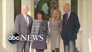 Joe Biden, Mike Pence Meet at Biden Residence