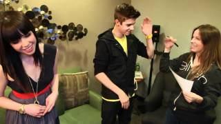 Justin Bieber and Carly Rae Jepsen Take a Quiz about Canada