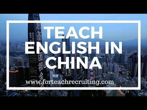 Teach English in China | For Teach Recruiting