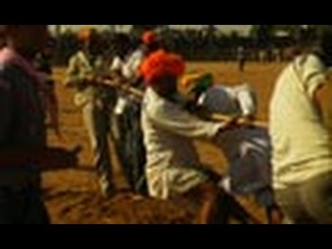 Tug of War - Indian men Vs Foreign men