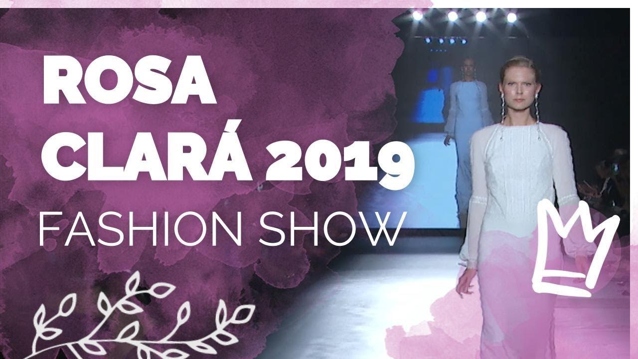e4558a82b Desfile Rosa Clará 2019 - YouTube