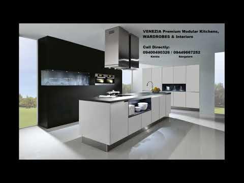 Top Kitchen Interior Wood Work Kerala Bangalore Call 9400490326