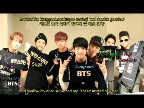BTS (Bangtan Boys) - Blanket Kick/Embarrassed (이불킥) Color Coded Lyrics [HAN/ROM/ENG]