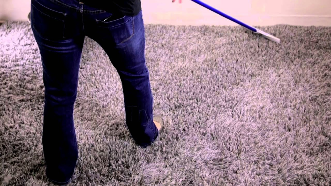 Perky Carpet Rake Fixes Smashed U0026 Tired Carpet   YouTube