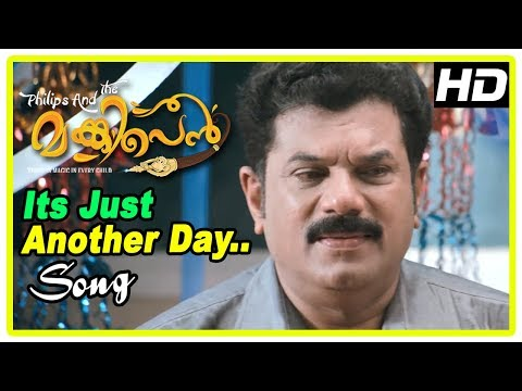 Philips and the Monkey Pen Movie Scenes | It's Just Another Day Song | Sanoop | Vijay Babu