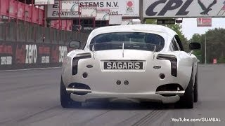 TVR Sagaris - Massive Accelerations!