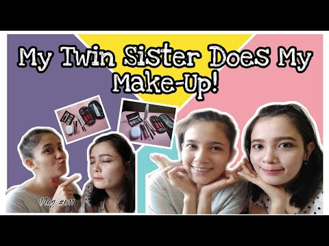 Видео: Minute Make-Up | Simple Make-Up By My Twin Sister