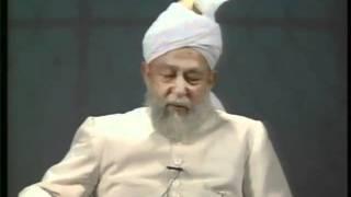 Liqa Ma'al Arab #86 Question/Answer English/Arabic by Hadrat Mirza Tahir Ahmad(rh), Islam Ahmadiyya